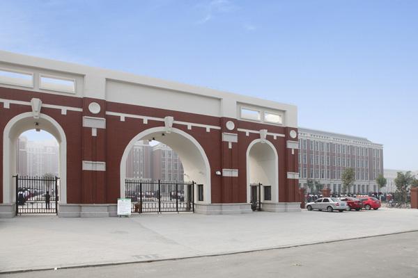 青岛兖州市第一中学pvc地板工程案例