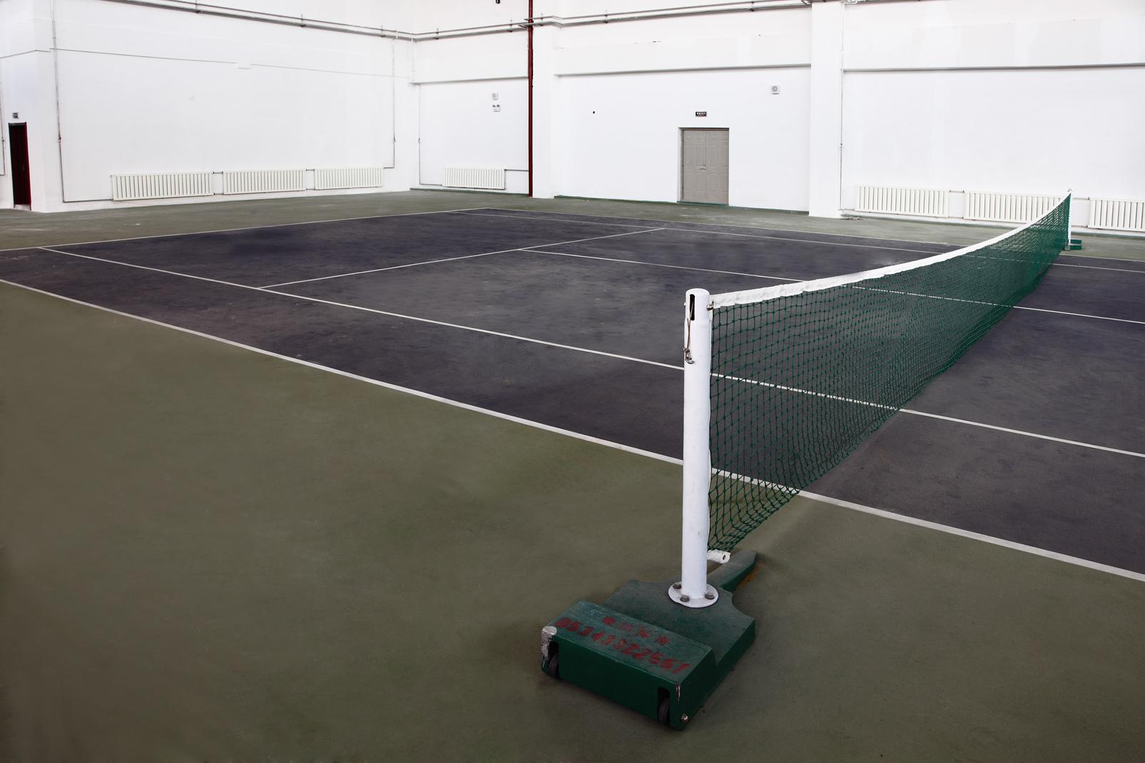 网球场PVC运动地胶