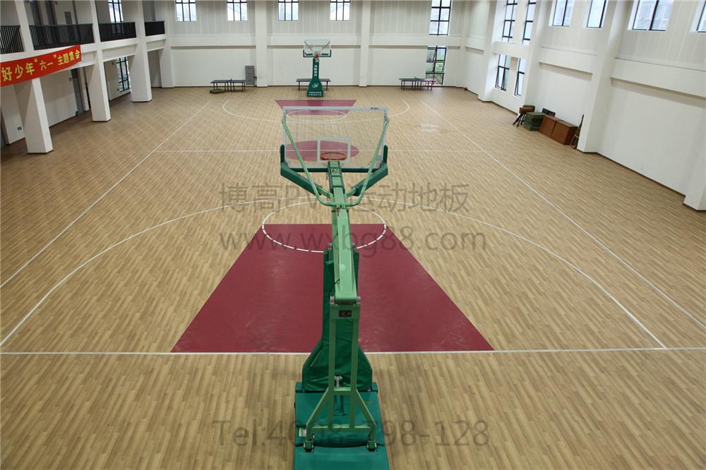 喜爱的一项运动,传统的室内篮球场都是使用实木地板