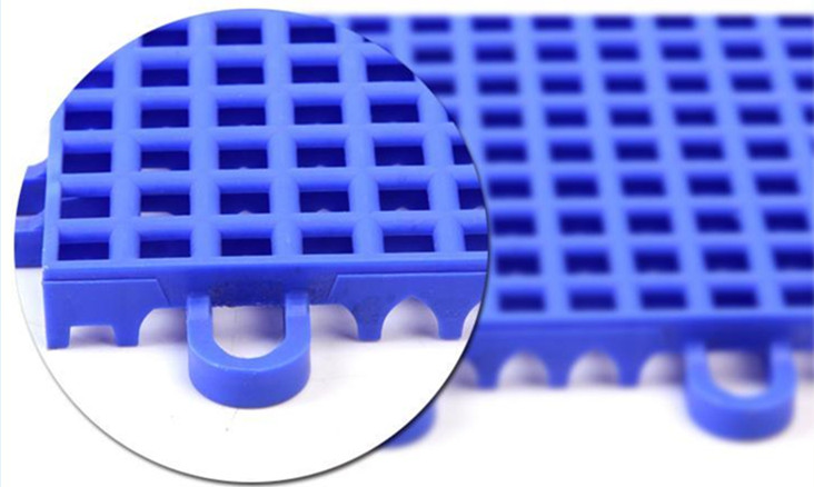 腾方方格悬浮拼装地板