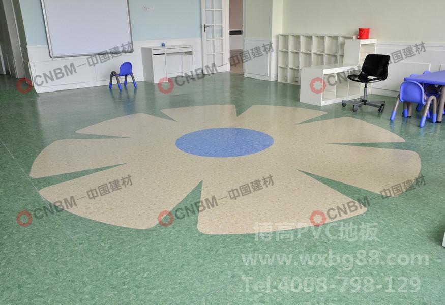 【深圳】美中幼儿园PVC地板