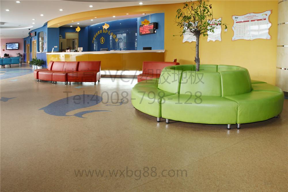 【浙江】上塘街道卫生中心PVC地板