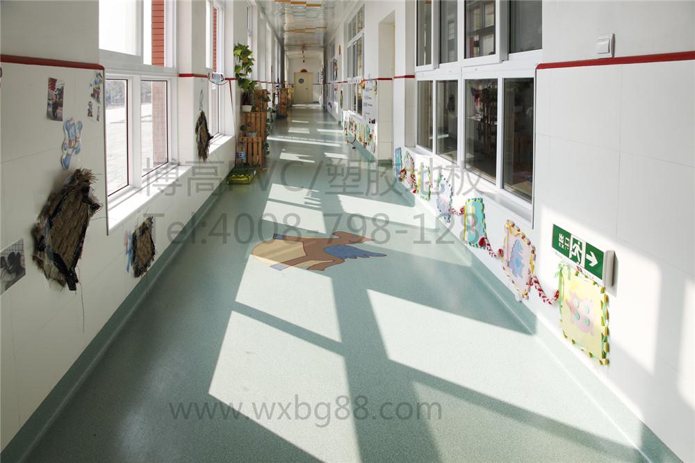 【浙江】新浦镇幼儿园PVC塑胶地板