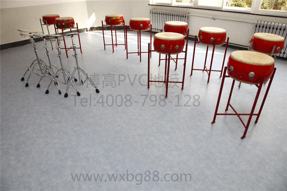 【青岛】东胜路小学PVC塑胶地板