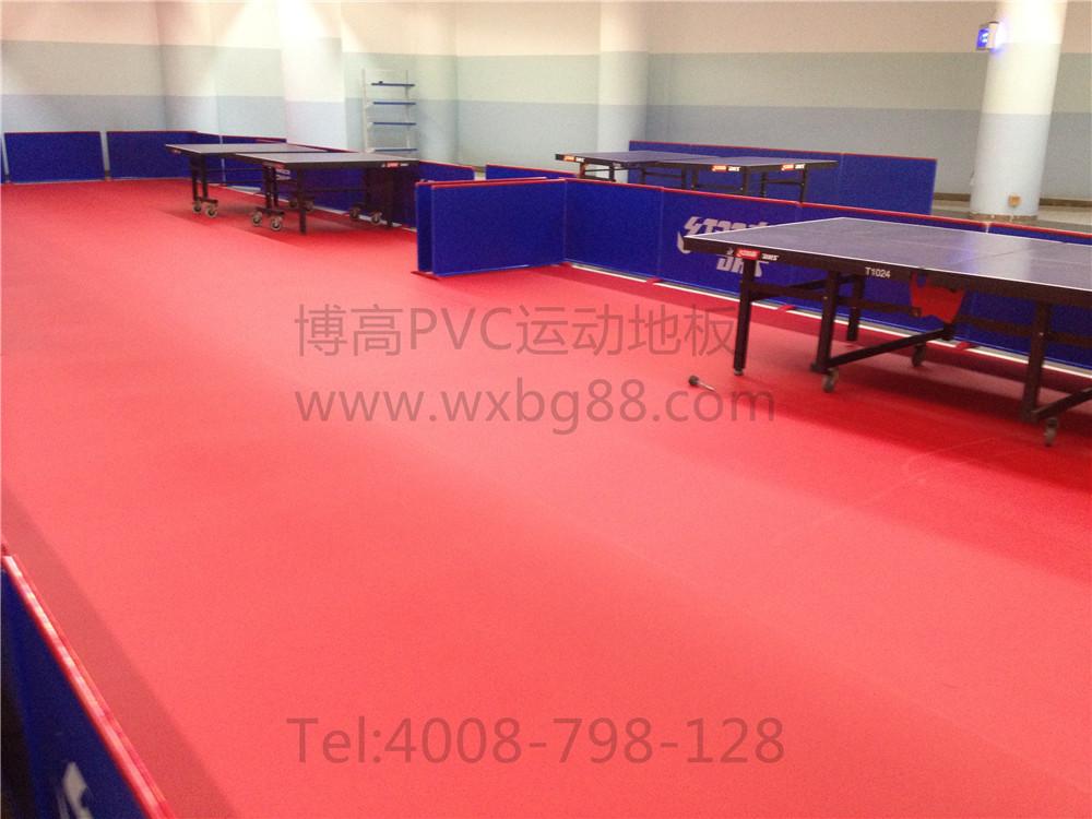【江苏】江阴体育中心乒乓球室地胶