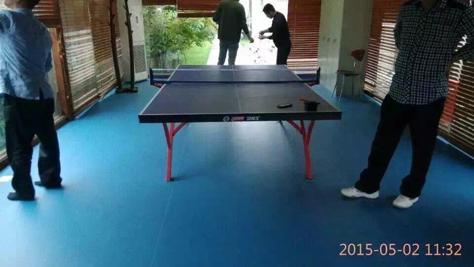 【上海】市委宣传部乒乓球室地胶