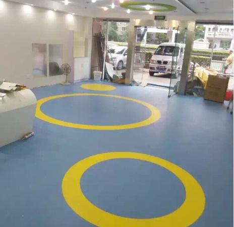 【上海】会智幼教PVC塑胶地板
