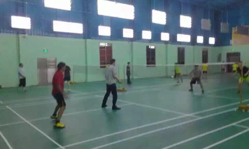 【东莞】钜星羽毛球馆运动地胶