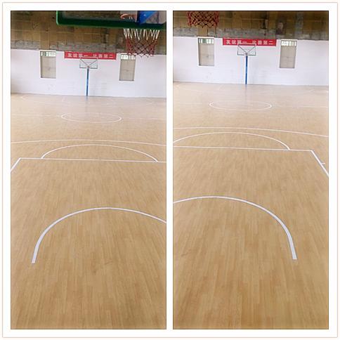 【江西】吉安市X公司篮球场地胶