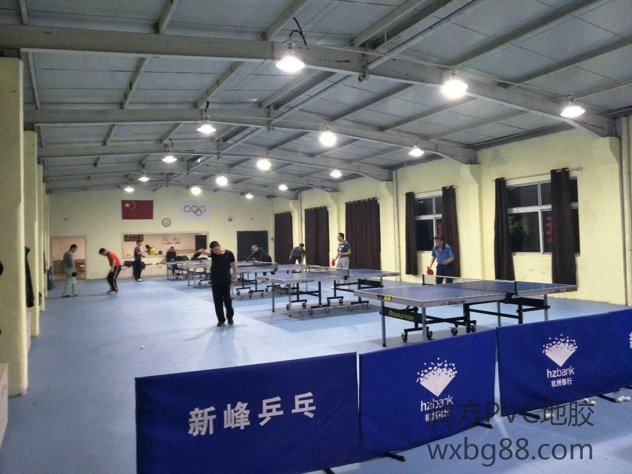 【杭州】新峰乒乓球运动地胶