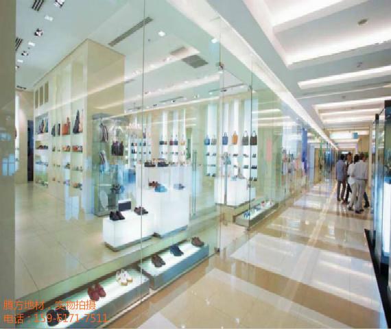 PVC地板逐渐成为商业场所专用地板