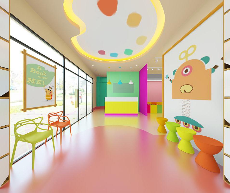 如何增加亲子空间的色彩童趣?