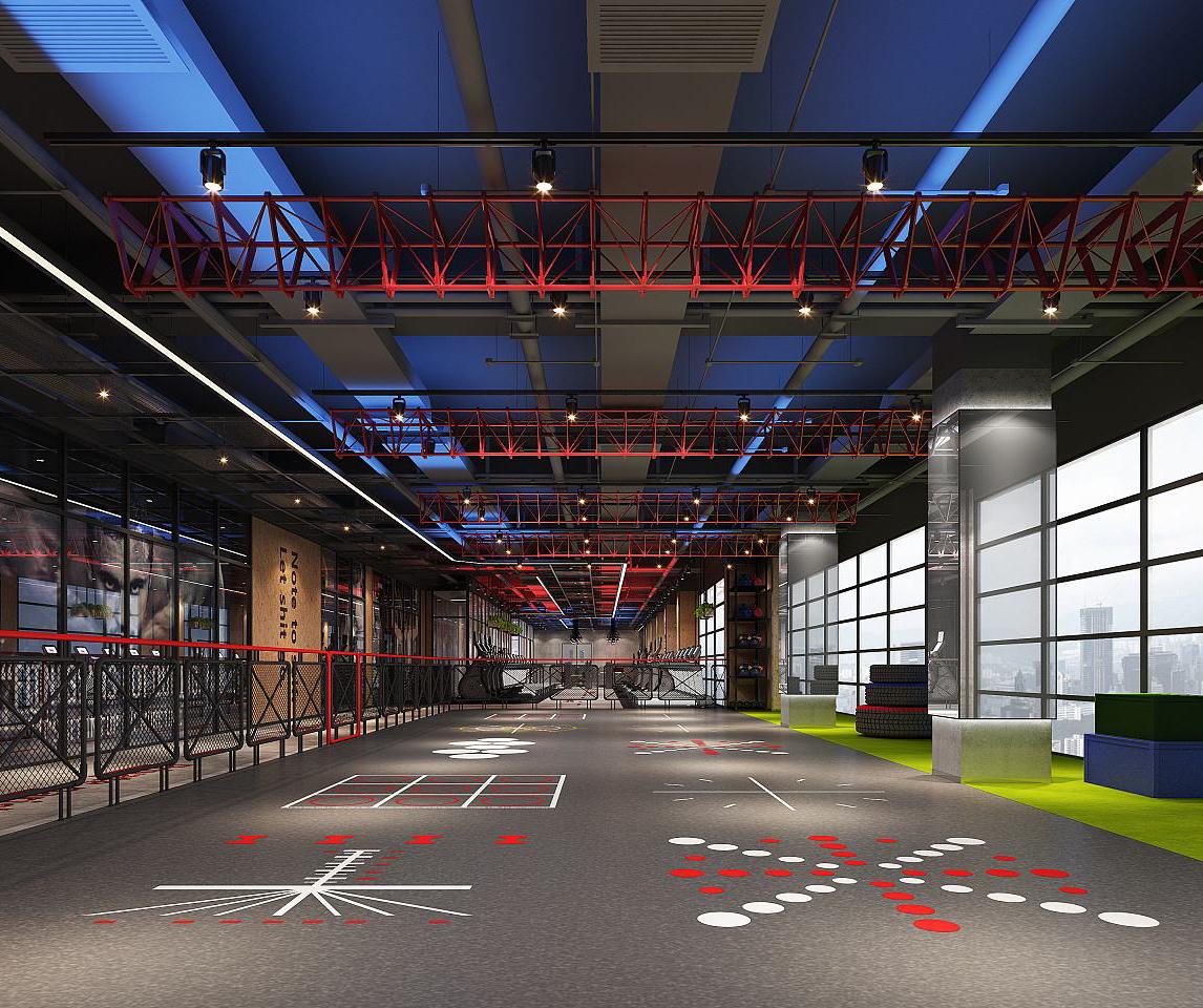 健身房为什么选择PVC地板?
