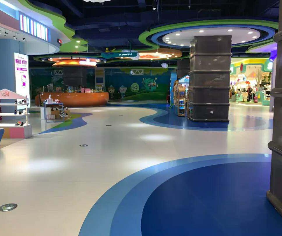 商场塑胶地板,让商场更时尚!