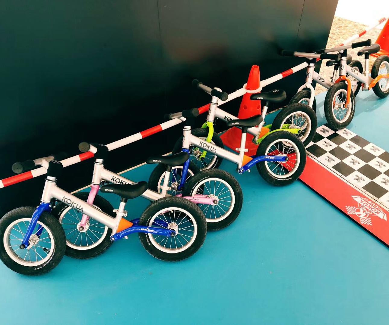 儿童平衡车馆选择安全系数高的腾方PVC地胶