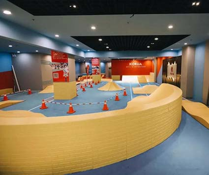 儿童体能运动发展迅速,法福莱儿童地板保驾护航