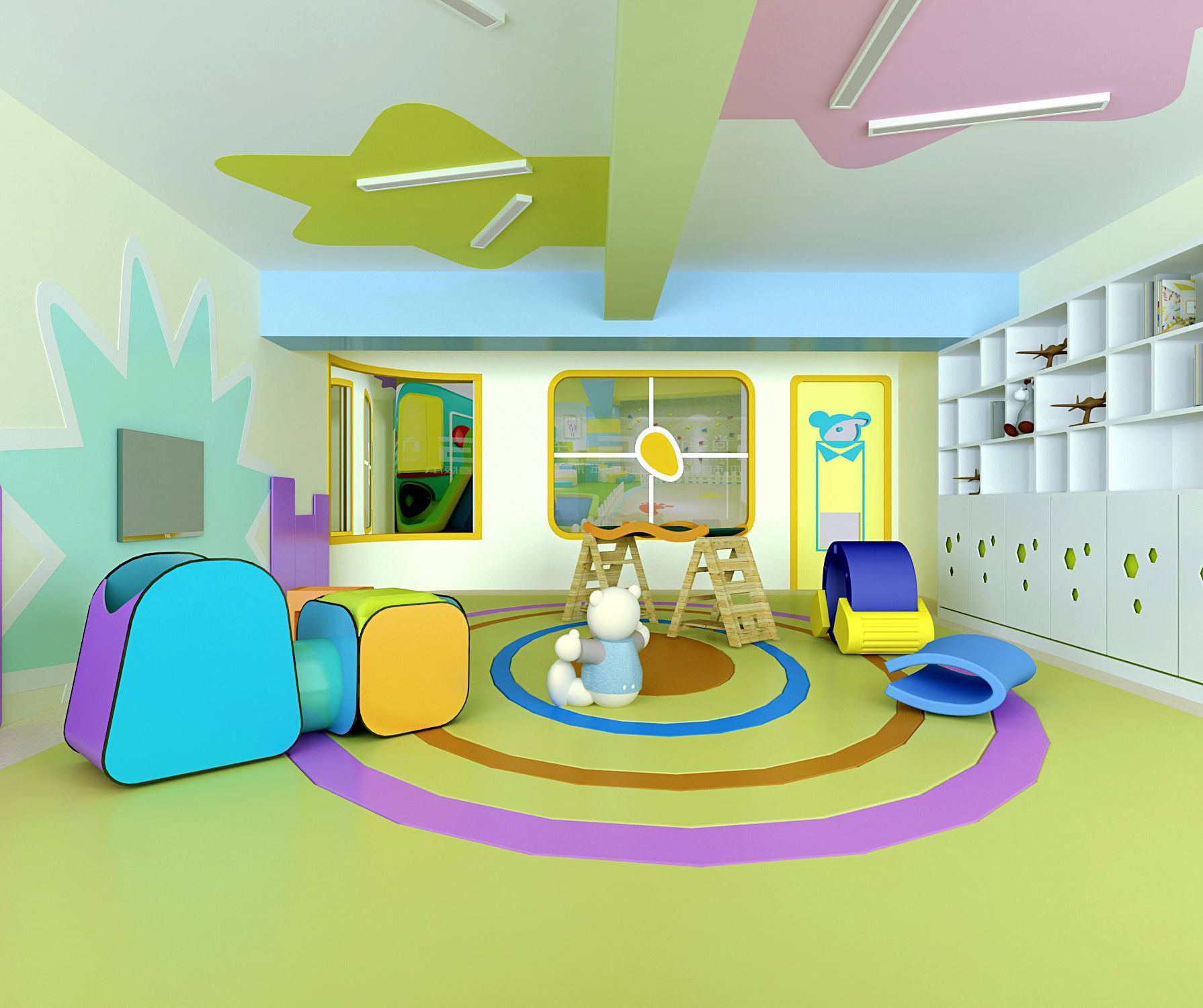 幼儿园地胶暑期二期装修地胶注意事项,必收藏!