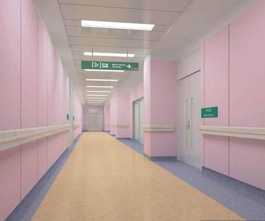 白,不是医院标配,医院还能有其他颜色