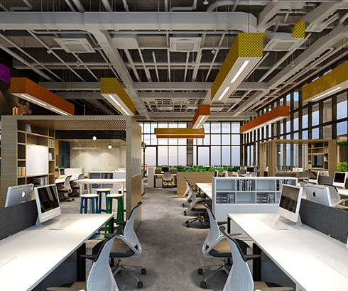 CBD内办公室都在用的塑胶地板,到底有什么好?