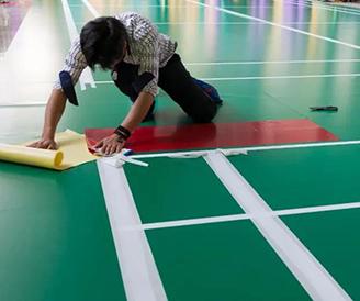 腾方告诉您,PVC塑胶地板如何划线?