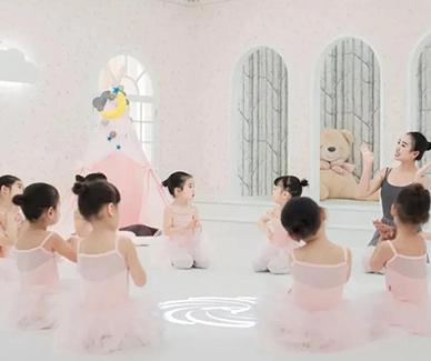 案例赏析|舞蹈室PVC地胶板,让孩子爱上早教培训!