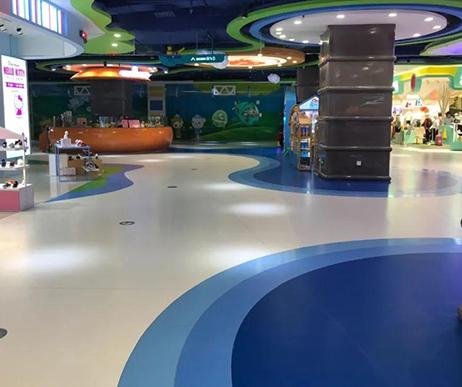 选购商场用PVC塑胶地板,需要注意什么?
