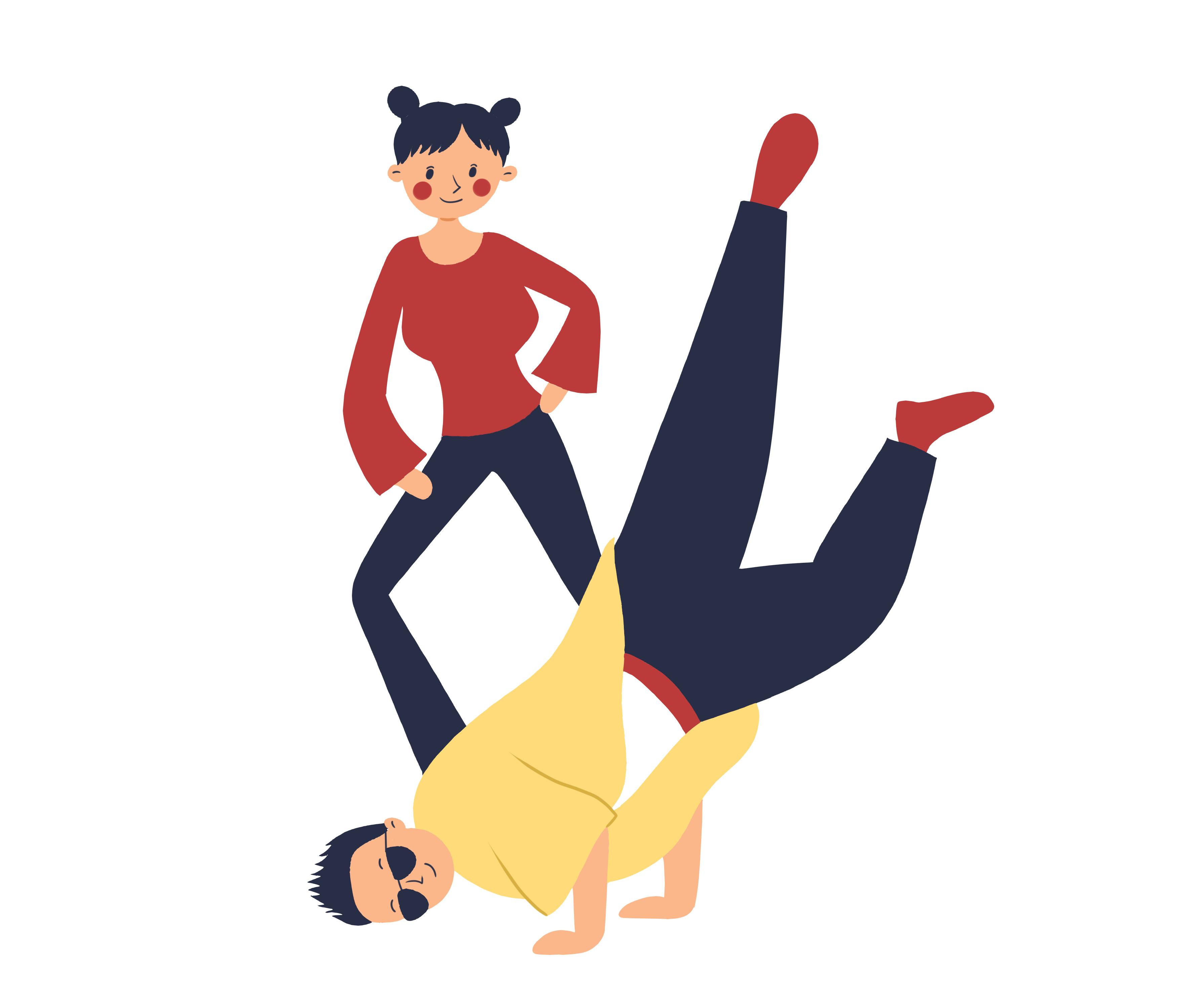 地板胶跳街舞能防滑吗?