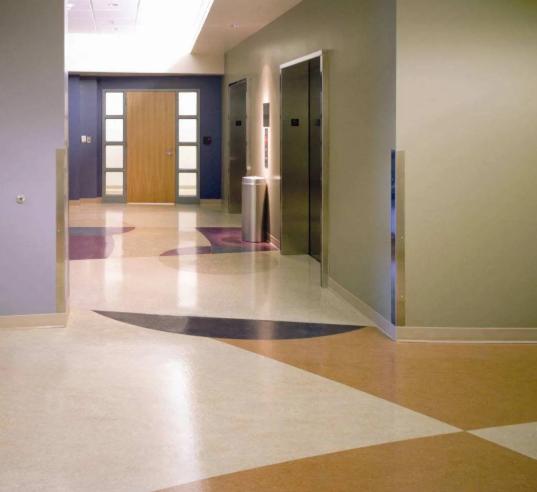 PVC地板给您一个静音舒适人性化的五星级环境!