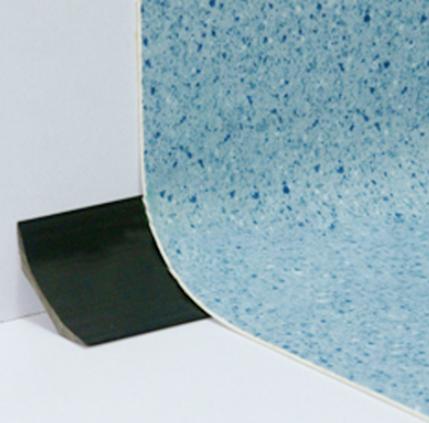 PVC地板上墙安装工艺