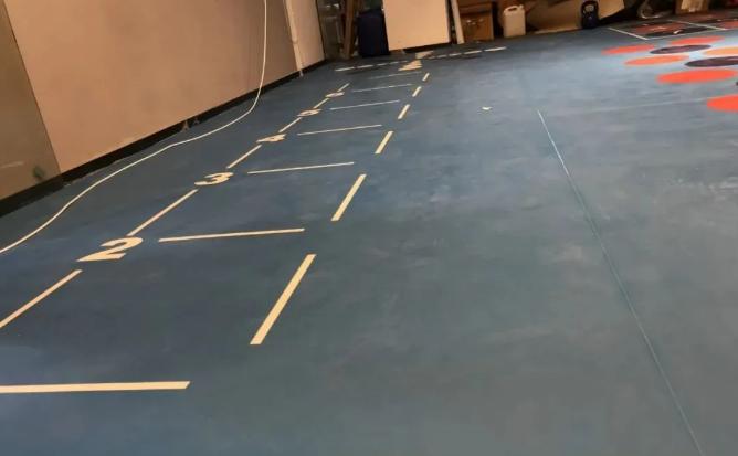 健身房地材,首选PVC塑胶地板