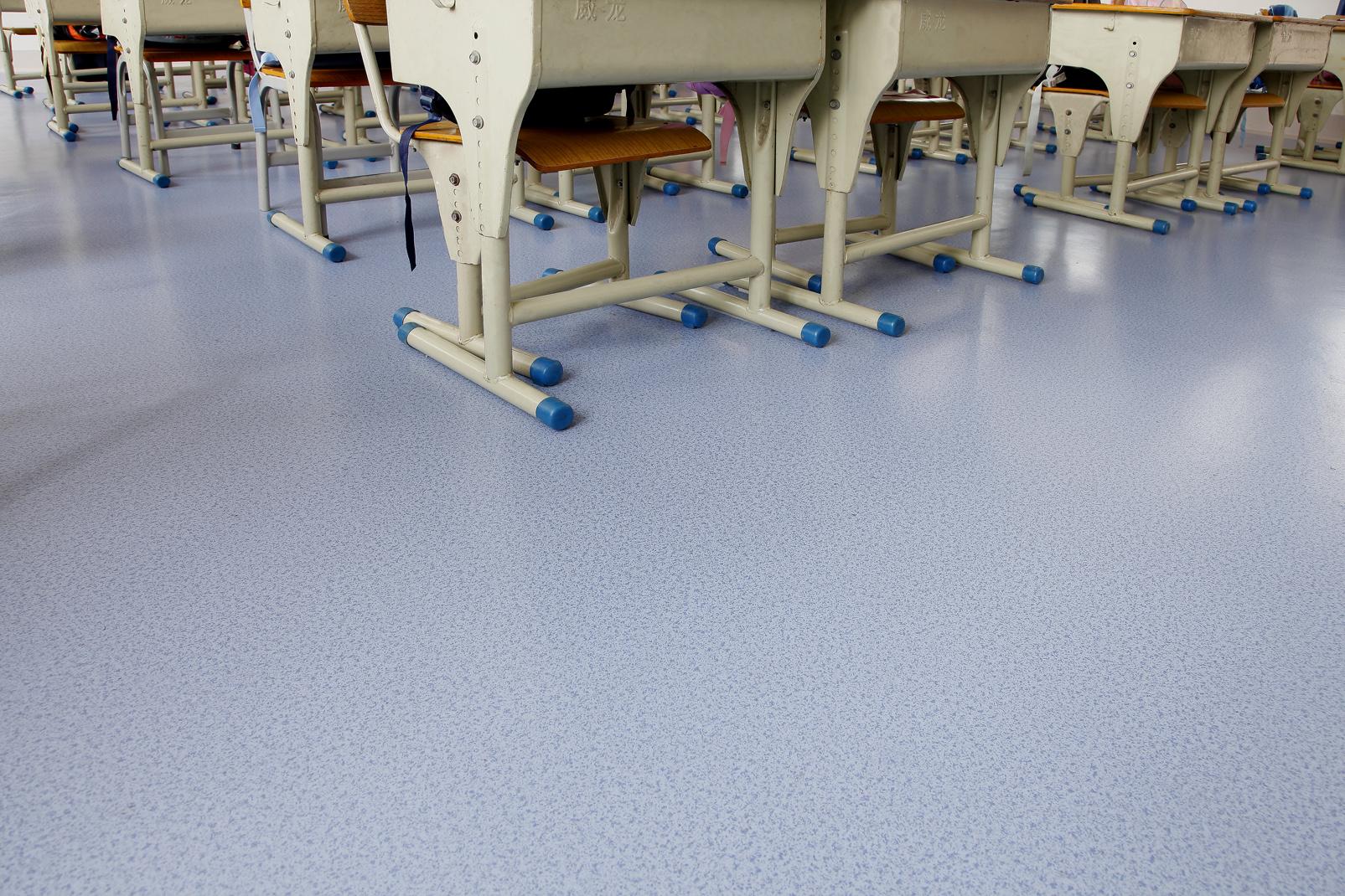 教育系统选用学校PVC塑胶地板能达到什么效果【腾方PVC地板】
