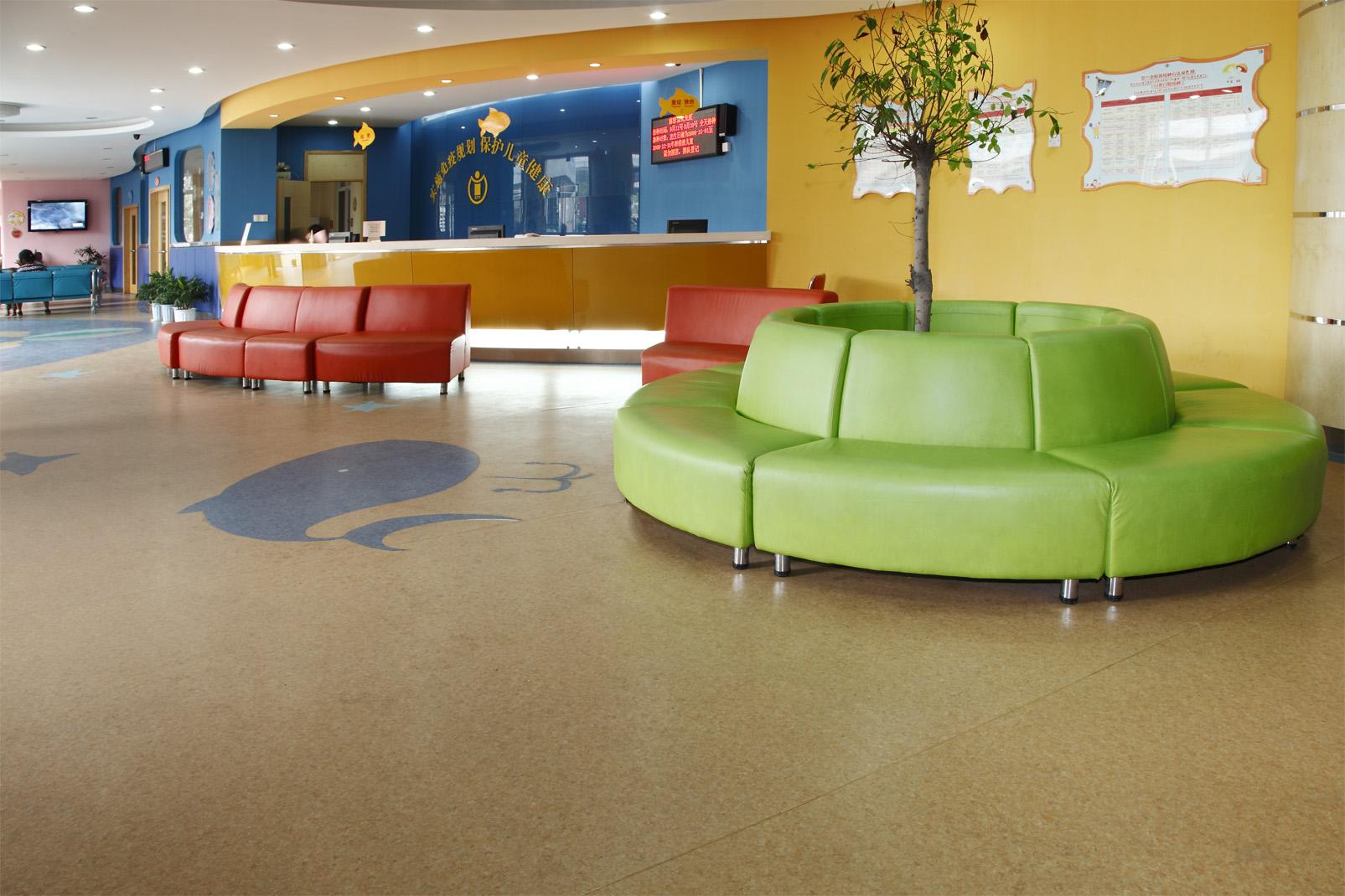 幼儿园地胶争当绿色环保的代名词【腾方PVC地板】