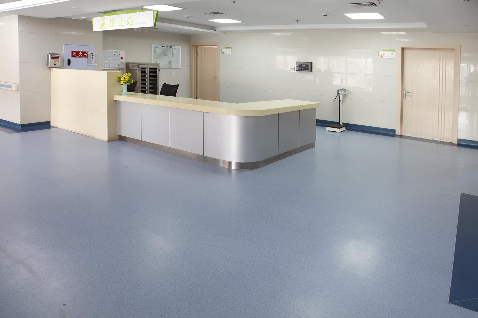 医院塑胶地板真的是医院系统的首选吗?【腾方PVC地板】