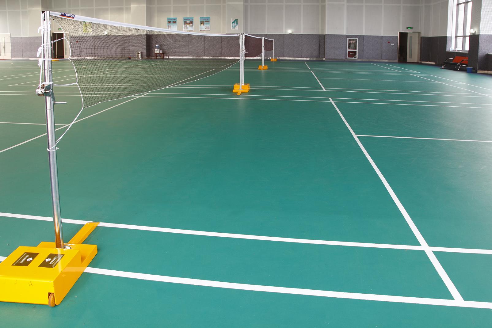 PVC羽毛球地胶应该具备的特性【腾方PVC地板】