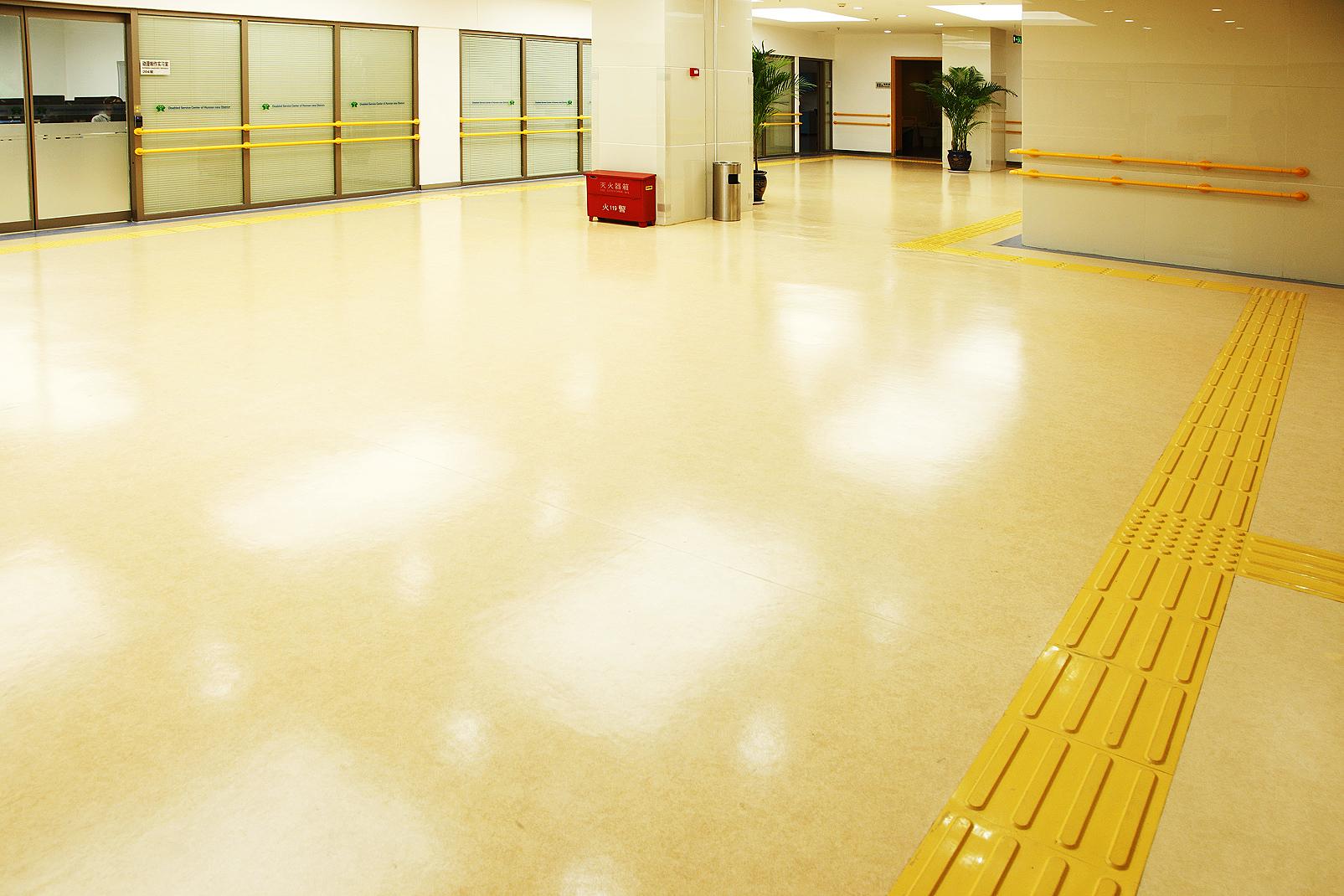 PVC塑胶地板可以在哪些地面直接铺设【腾方PVC地板】