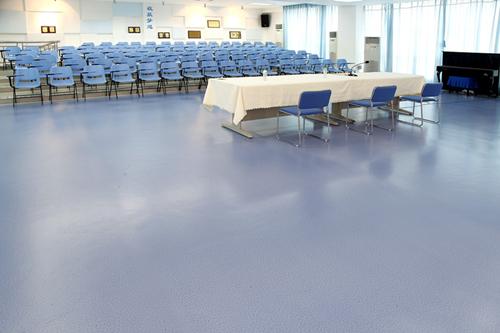 为什么学校PVC地板深受教育系统的喜爱【腾方PVC地板】