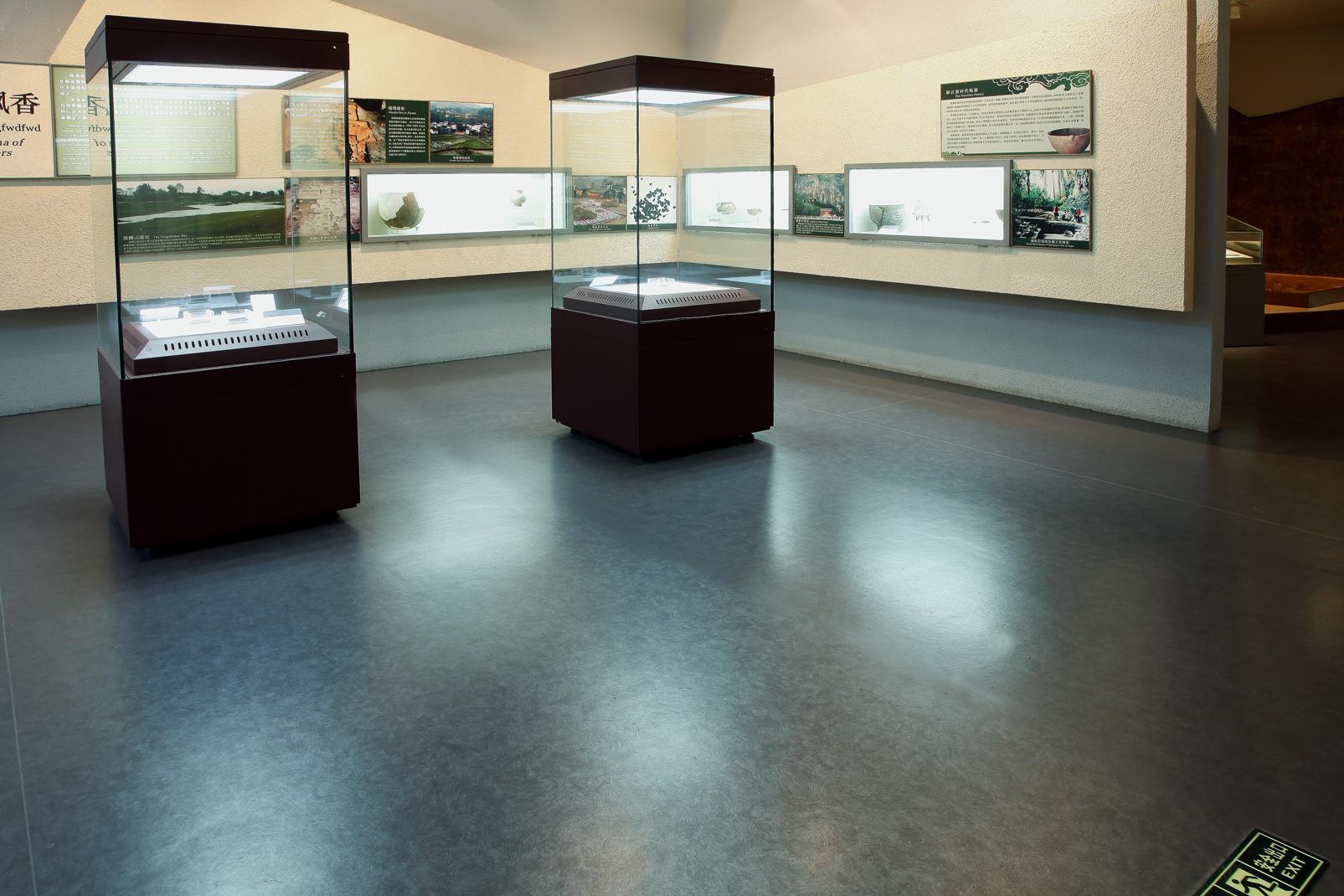 展览馆地面铺什么地面材料【腾方PVC地板】