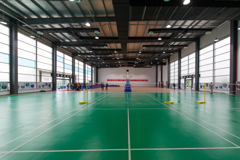 运动场馆用什么PVC塑胶地板?【腾方PVC地板】