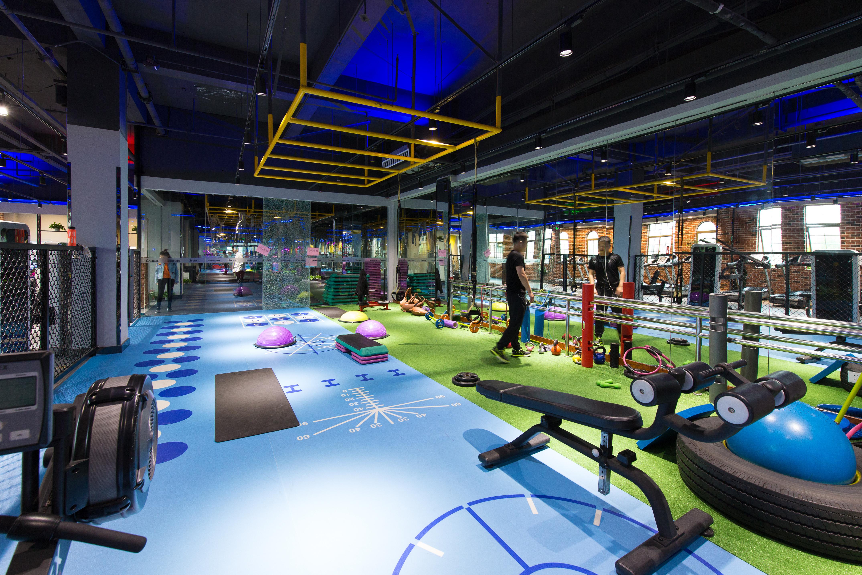 健身房PVC塑胶地板应该怎么选?【腾方PVC地板】