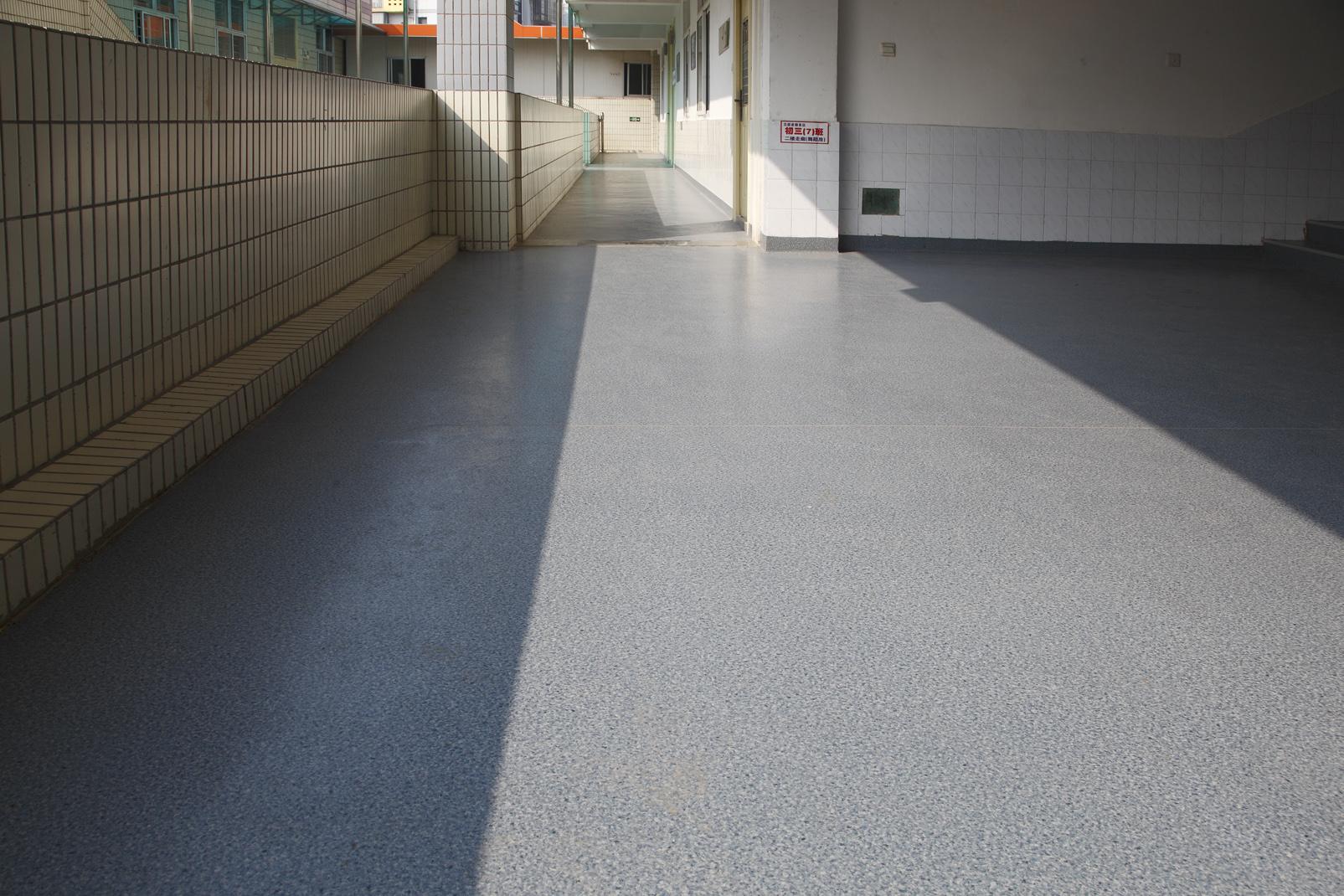 聊聊学校PVC地板的优点【腾方PVC地板】
