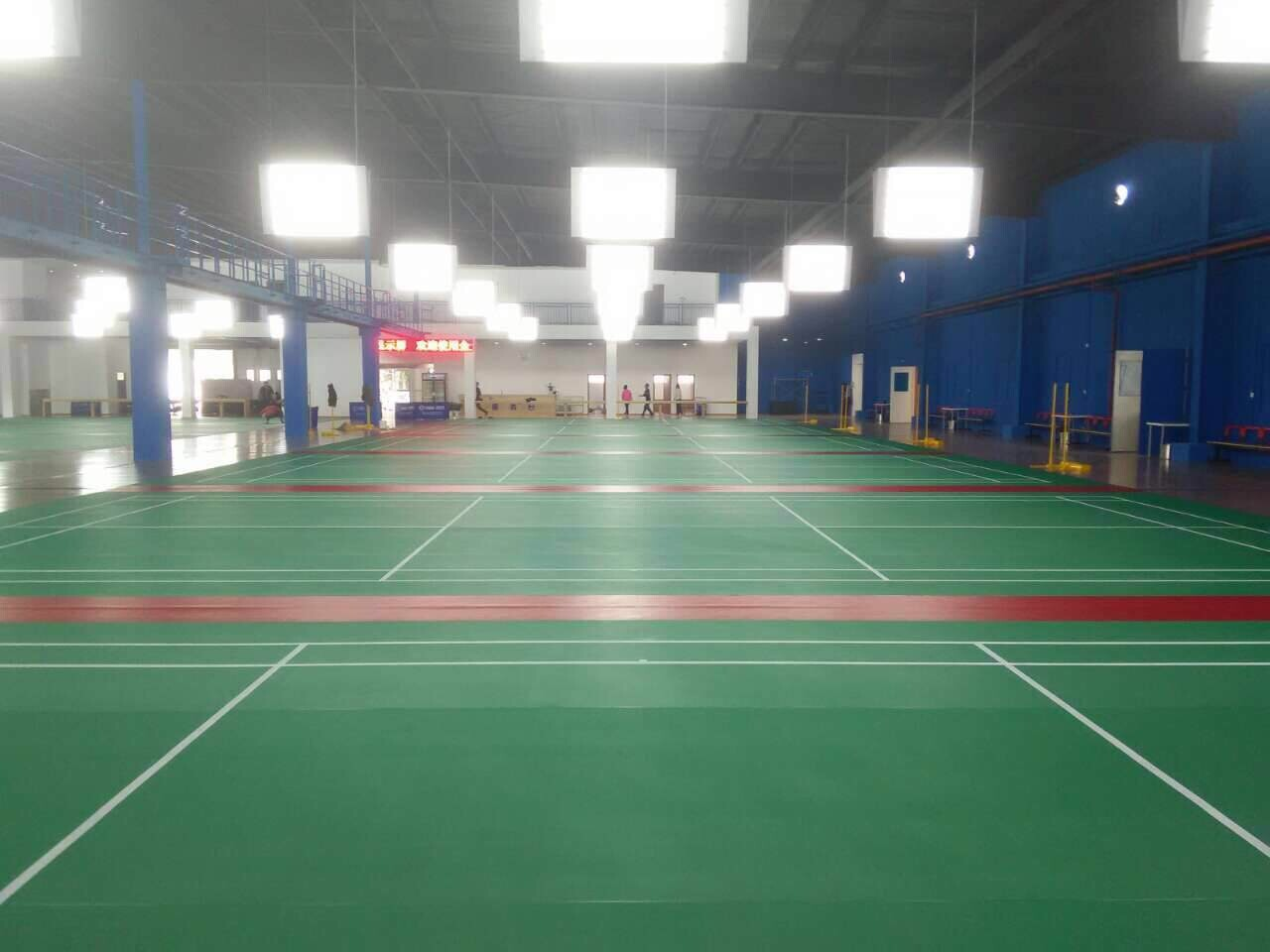 聊聊PVC运动地板的一些特点【腾方PVC地板】