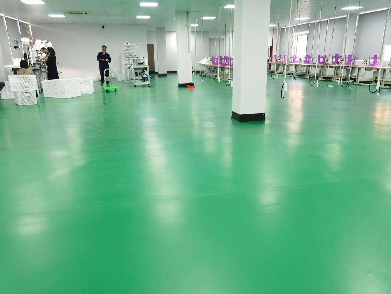车间PVC塑胶地板是否防火【腾方PVC地板】