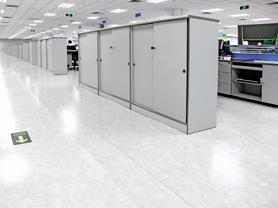 办公室PVC塑胶地板装饰解决方案