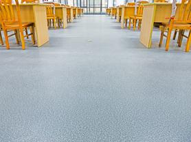 学校PVC地板工程解决方案