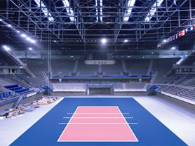 排球场地板工程解决方案