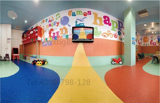 幼儿园PVC地板工程解决方案