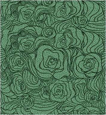 玫瑰花-静电植绒地板